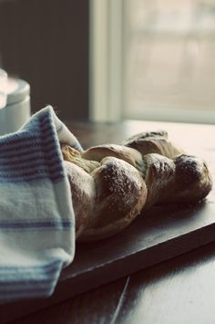 Challah bread- I love all of the different recipes. One day I'm going to try it. It's always hard because I think about it at Passover when we can't have yeast! One day I'll remember to make it for a sabbath or another festival.