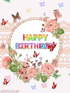 Disney Happy Birthday Images, Funny Happy Birthday Greetings, Animated Happy Birthday Wishes, Happy Birthday Greetings Friends, Happy Birthday Frame, Birthday Wishes Cake, Birthday Wishes And Images, Happy Birthday Flower, Happy Birthday Friend
