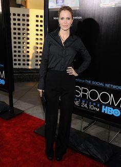 "Kristin Bauer van Straten - Premiere Of HBO's ""The Newsroom"" - Red Carpet"