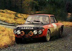 1970 RAC Rally - Lancia Fulvia 1.6 Coupé HF
