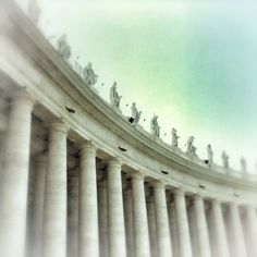 Saints on the Colonades, St Peter's Square, Vatican City (2001)