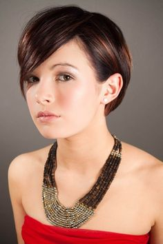 pictures of spiked haircuts for women spiked back long