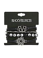 Black Veil Brides Bracelet Set,