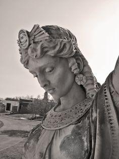 Egyptian Lady Metairie Cemetery