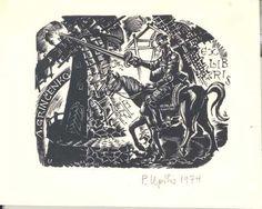Upitis, Peteris Augustovich; Letonia    EX LIBRIS A. GRINCENKO, 1974    (Grincenko, A.; Letonia)