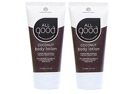 Elemental Herbs All Good Body Lotion, Coconut, 6 Fluid Ounce (2 Pack)