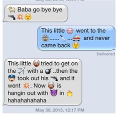 When me and Haley are bored, this is what happens hahaha. Best emoji conversation ever!!