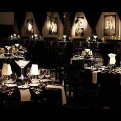 Black and White Cotton Club theme