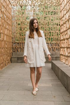 Andrea F. - White in White