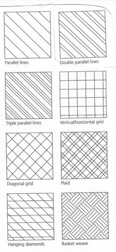 Straight Line Quilting variations.