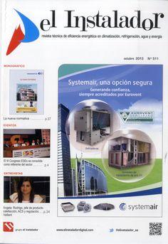 El instalador : revista técnica de eficiencia energética en climatización, refrigeración, agua y energía. Nº511. Octubre 2013. La nueva normativa.  Na biblioteca: http://kmelot.biblioteca.udc.es/record=b1194779~S1*gag