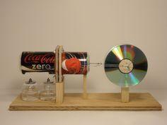 Pop Can Stirling Engine Plans | Eleven Stirling Engine Projects You Can Build - StirlingBuilder.com