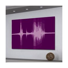 https://voiceprintsart.com  Get your voice printed on canvas.