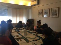 123 arrancamos el segundo turno tarde mode  curso de encuadernacion  #curso #binding #encuadernacion #florencelivres