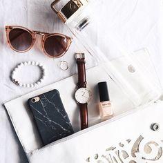 Accessories. Sunglasses, watches, nail polish, bracelets