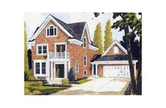 1958 square feet colonial style 4 bedroom, 3 bath