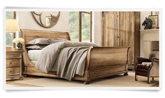 Ski Home Guest Bedroom - Amazing Bed