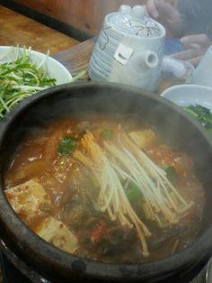 Kimchi jigae  Hot & spicy