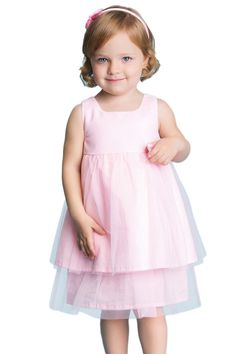 OSA Little Girls' Princess Tulle Flower Princess Girl Dress | Shop Abide
