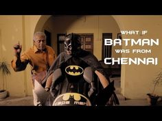 Batman from Chennai is Bruceothaman Waynekatraman. Watch the YT video before #warnerbros bumps it http://shar.es/1giVau
