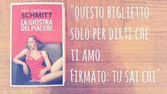 ★ La giostra del piacere ★ Eric-Emmanuel Schmitt ★ edizioni e/o ★