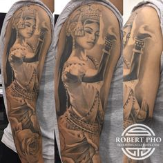 Cambodian apsara tattoo. Khmer tattoo