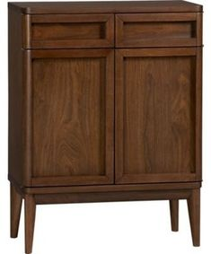 Oslo Bar Cabinet - contemporary - bookcases cabinets and computer armoires - Crate&Barrel