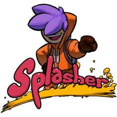 Splasher | SPLASHER is an indie 2D Platformer featuring Paint & Bionic Potatoes.