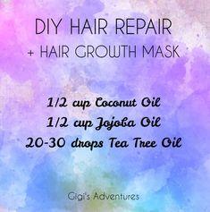 Rose Oil For Skin, Oils For Skin, Hair Mask For Growth, Hair Growth Treatment, Hair Treatments, Diy Beauty Books, Yogurt Hair Mask, Diy Haircare, Overnight Hairstyles