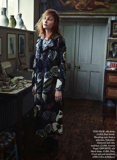 Harpers Bazaar UK November 2014 | by Tom Lera Tribel Allen