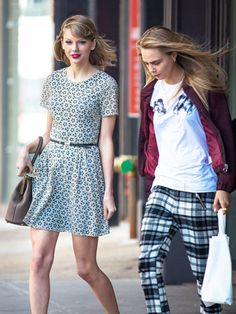 Taylor Swift Adds Cara Delevingne To Her Bestie Networt