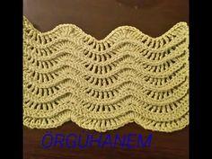 Granny Square Crochet Pattern, Tunisian Crochet, Crochet Stitches, Knit Crochet, Crochet Patterns, Crochet Blouse, Crochet Videos, Le Point, Blog