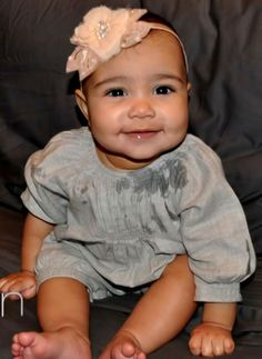 North West is probably the most popular baby in popular culture today. She is the daughter of Kim Kardashian and Kayne West. Her arrival was very much anticipated! She is an adorable baby.