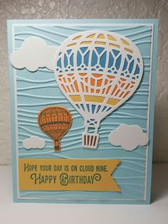 Stampin' Up! Lift Me Up bundle, Seaside embossing folder