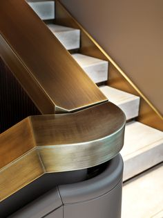 Stair Rail-Brass