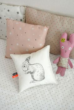 Image of Coussin Lapin 1
