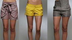 Il caldo ci obbliga a scoprirci il più possibile: gli shorts scoprono le gambe ma attenzione alla scelta giusta in base al fisico.