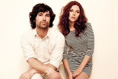 Scarlett Johansson and Pete Yorn | auburn hair