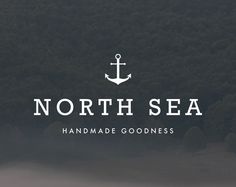 Anchor Logo Design. Nautical Logo. Ocean Logo. Preppy by RogueLogo