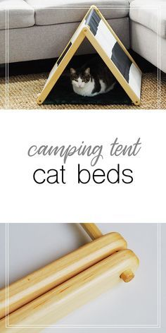The Purring Saw creates stylish, easy-to-maintain cat furniture while benefiting animal rescues. Each cat bed is handmade by a small business in North Carolina. Cat Lover Gifts, Cat Gifts, Modern Cat Furniture, Painted Furniture, Furniture Ideas, Furniture Design, Cat Apartment, Diy Cat Tent, Stupid Cat