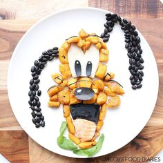 Jacob's Food Diaries: Pluto made from pumpkin, potato and spelt gnocchi with Wild Australian Salmon, black beans and spinach
