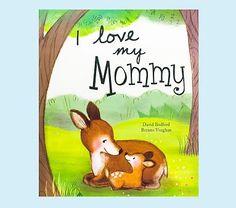I Love My Mommy Book #pbkids