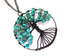 Tree of life pendant, Turquoise handmade jewelry | Flickr - Photo Sharing!