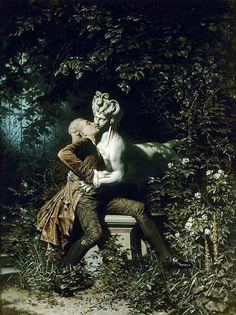"Heinrich Lossow (German, 1843-1897), ""The Enchantress"", 1868"
