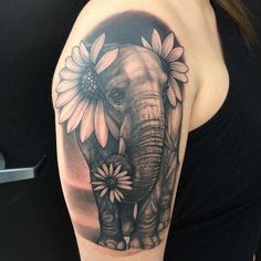 75 Big And Small Elephant Tattoo Ideas - Brighter Craft - 75 Big And Small Eleph. - 75 Big And Small Elephant Tattoo Ideas – Brighter Craft – 75 Big And Small Eleph… – 75 Big - Trendy Tattoos, Unique Tattoos, Cute Tattoos, Beautiful Tattoos, Body Art Tattoos, New Tattoos, Small Tattoos, Sleeve Tattoos, Tatoos
