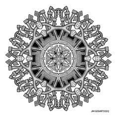 Mandala 55 by Mandala-Jim.deviantart.com on @deviantART