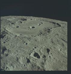 Apollo 17 Hasselblad image from film magazine 150/LL - Lunar orbit