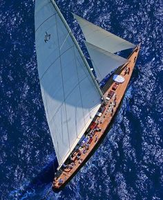 source: o-k-e-a-n-o-s @ tumbler . J Class. The loveliest of them all, VALSHEDA Luxury Sailing Yachts, Sailing Cruises, Sailing Ships, J Class Yacht, Yacht Week, Classic Sailing, Classic Yachts, Cruise Italy, Volvo Ocean Race