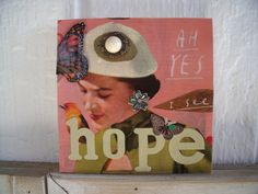 Hope and Magic  by Lori Giometti on Etsy
