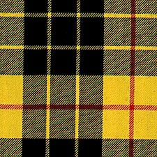 McLeod of Lewis tartan- can cut into strips and layer with champagne ribbon over top to soften and add to almond favors